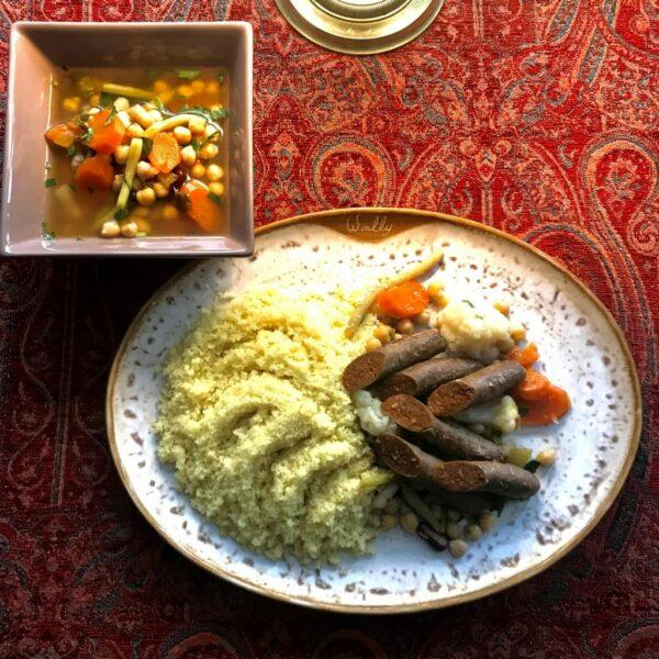 couscous merguez legumes a emporter paris